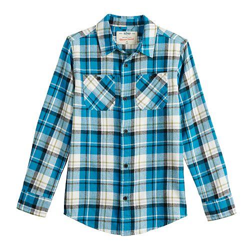 Boys 8-20 Urban Pipeline™ Flannel Button-Down Shirt