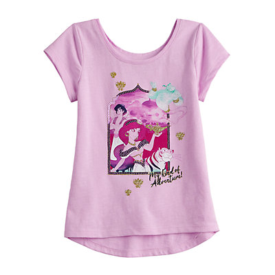 Disney's Aladdin Toddler Girl Jasmine Embellished Graphic Tee by Jumping Beans®
