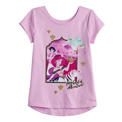 Disney's Aladdin Girls 4-12 Jasmine Embellished Graphic Tee by Jumping Beans®