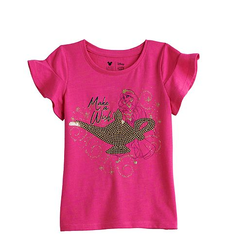 Disney's Aladdin Toddler Girl Jasmine Sequined Graphic Tee by Jumping Beans®