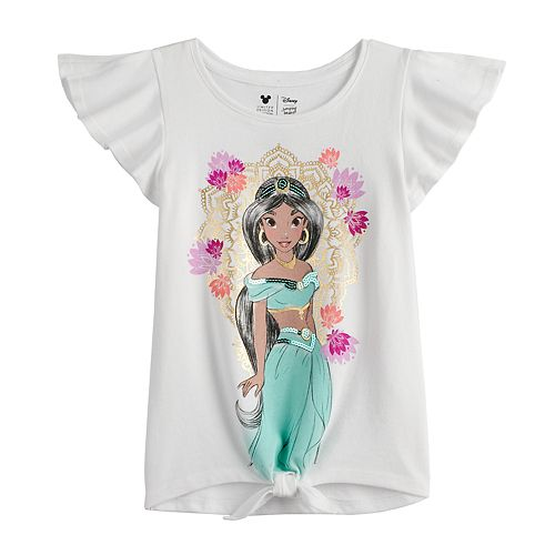 Disney's Aladdin Girls 4-12 Sequined Jasmine Graphic Tee by Jumping Beans®