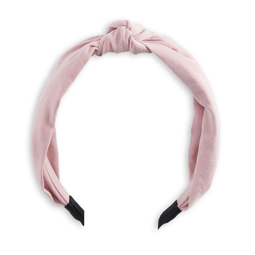 Women's SO® Knot Top Headband - Pink