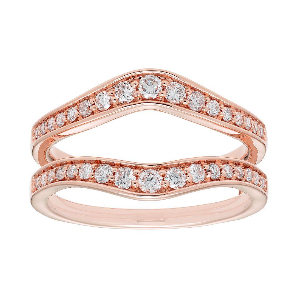 14k Gold 1/2 Carat T.W. Diamond Enhancer Wedding Ring