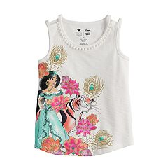 Disney's Aladdin Toddler Girl Glittery Jasmine Graphic Tank Top by Jumping Beans®