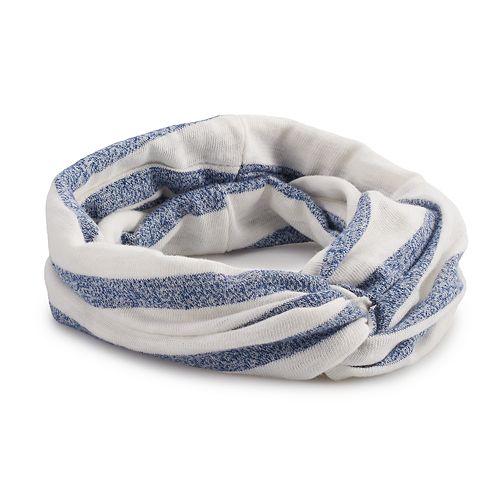 SO® Striped Twist Head Wrap