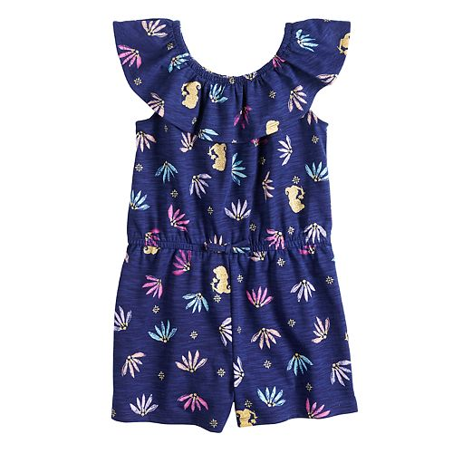 Disney's Aladdin Toddler Girl Printed Romper by Jumping Beans®