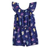 Disney's Aladdin Girls 4-12 Printed Romper by Jumping Beans®