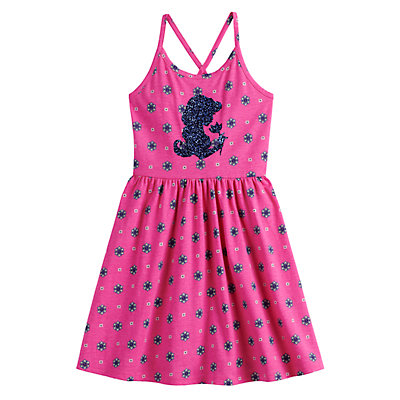 Disney's Aladdin Toddler Girl Glittery Graphic Dress by Jumping Beans®