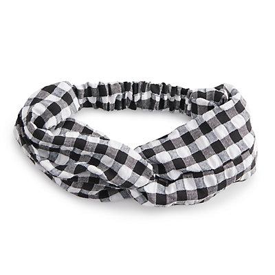 Women's SO® Plaid Flannel Head Wrap