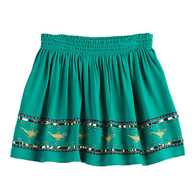 Disney's Aladdin Girls 4-12 Embroidered Lamp Skort by Jumping Beans®
