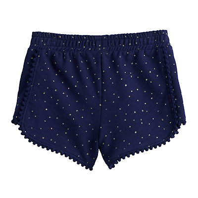 Disney's Aladdin Toddler Girl Glittery Jasmine French Terry Shorts by Jumping Beans®