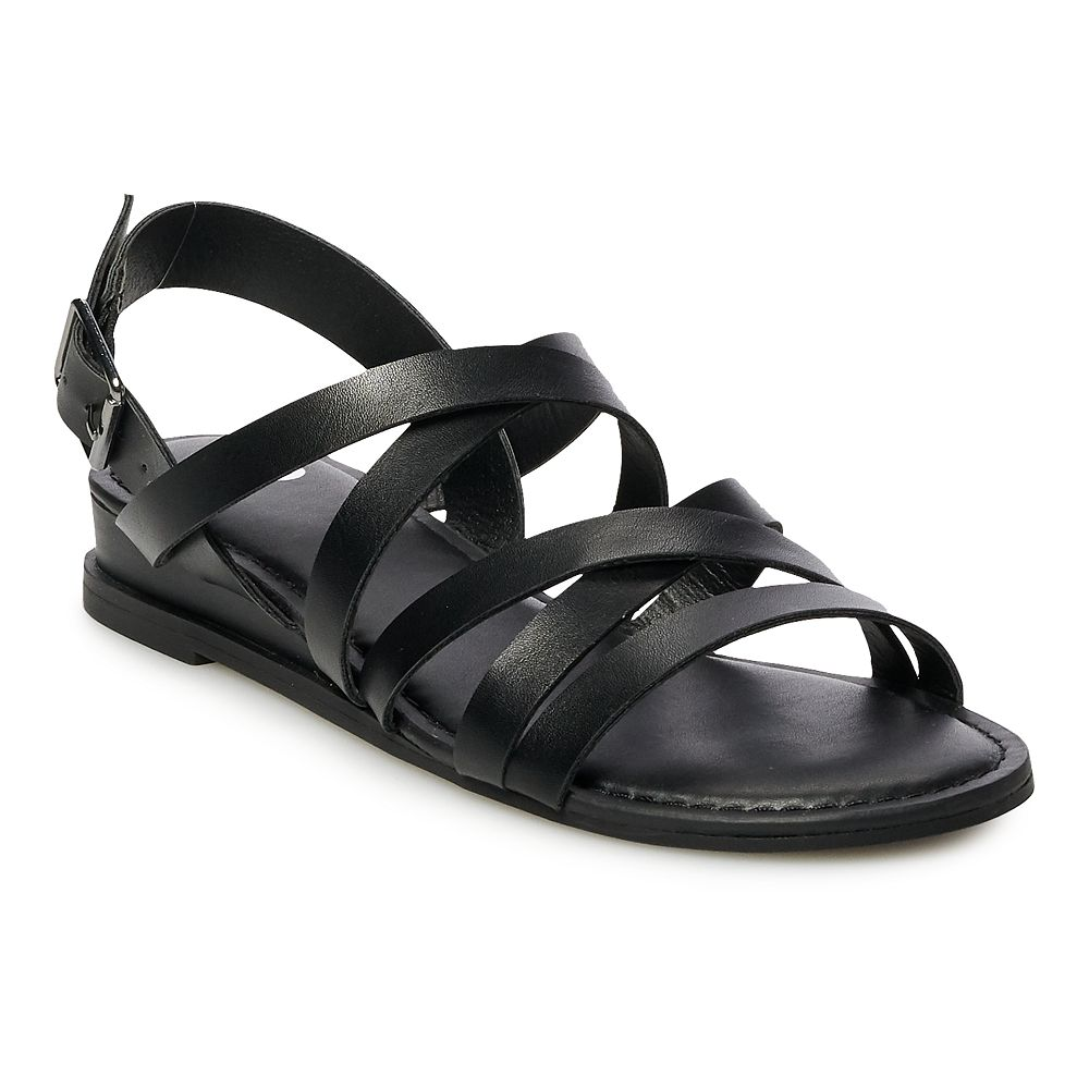 SO® Cider Women's Strappy Sandals