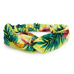 Women's SO® Tropical Print Headwrap