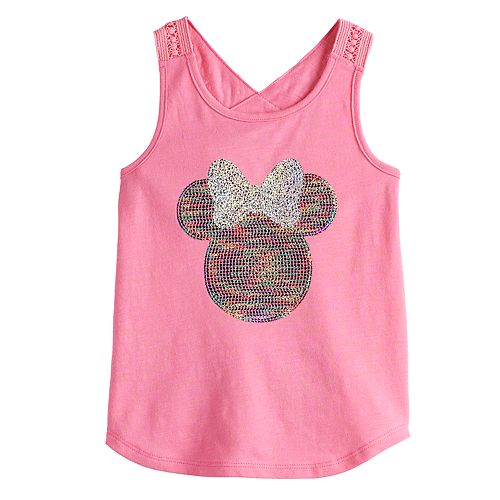 Disney's Minnie Mouse Toddler Girl Crochet-Strap Tank Top by Jumping Beans®