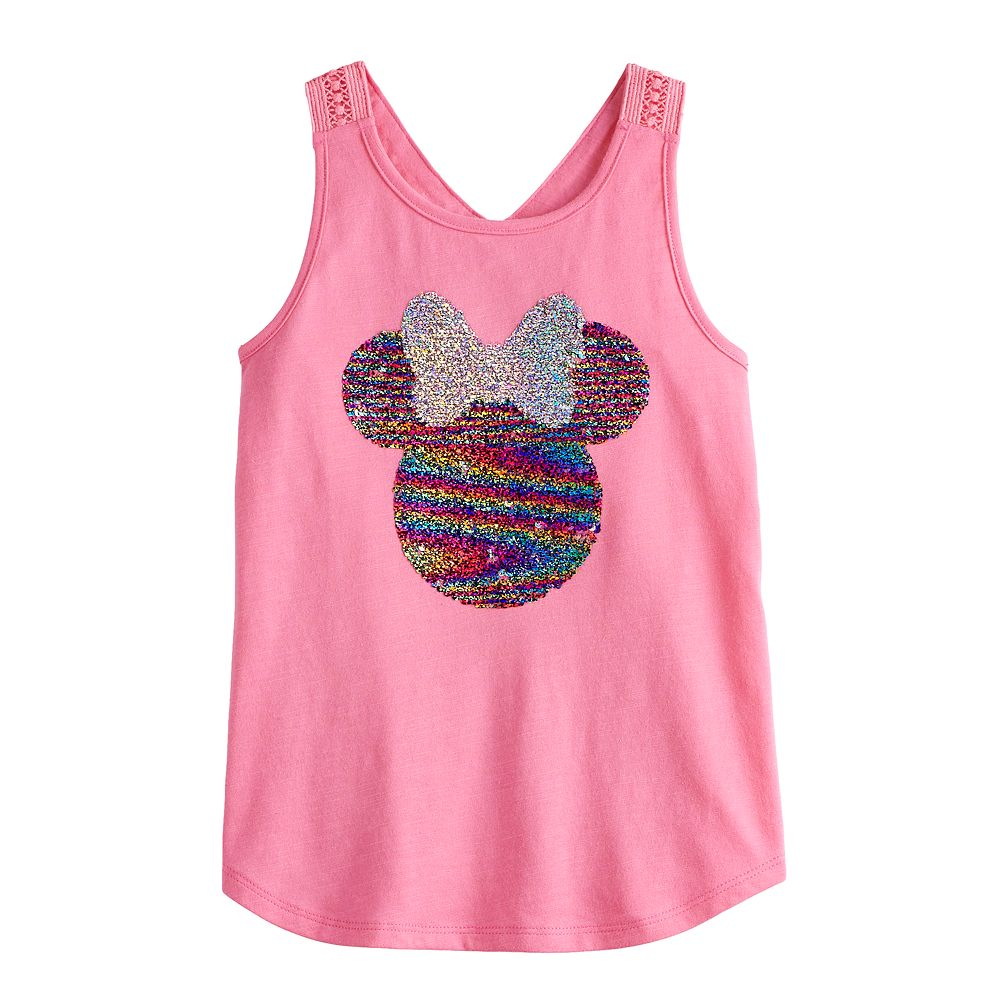 Disney's Minnie Mouse Girls 4-12 Flip-Sequin Tank Top by Jumping Beans®