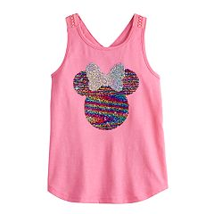 e3a06f2da1 Disney's Minnie Mouse Girls 4-12 Flip-Sequin Tank Top by Jumping Beans®