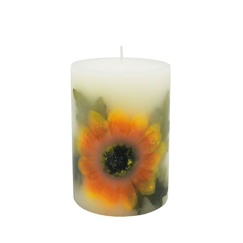 SONOMA Goods for Life® Sunflower Pillar Candle