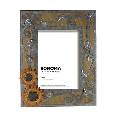 """SONOMA Goods for Life? Sunflower 5"""" x 7"""" Frame"""