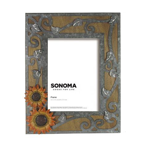 """SONOMA Goods for Life® Sunflower 5"""" x 7"""" Frame"""