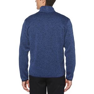 Big & Tall Grand Slam Sweater Fleece Thermal Quarter-Zip Performance Golf Pullover