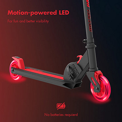 Yvolution Neon Vector LED Scooter - Red