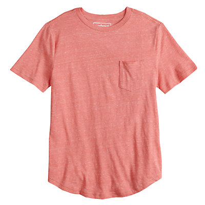 Boys 8-20 Urban Pipeline? Curved Hem Tee