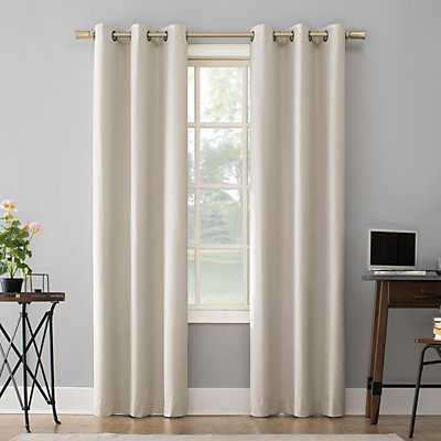 Sun Zero 2-pack Amici Total Thermal Blackout Window Curtains