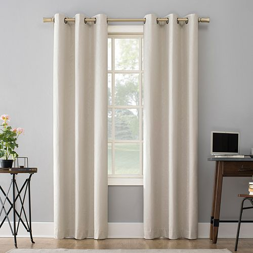 Sun Zero 2-pack Amici Thermal 100% Blackout Window Curtains