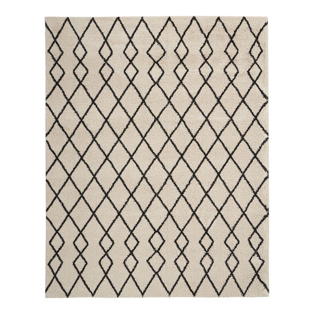 Nourison Geometric Shag Rug