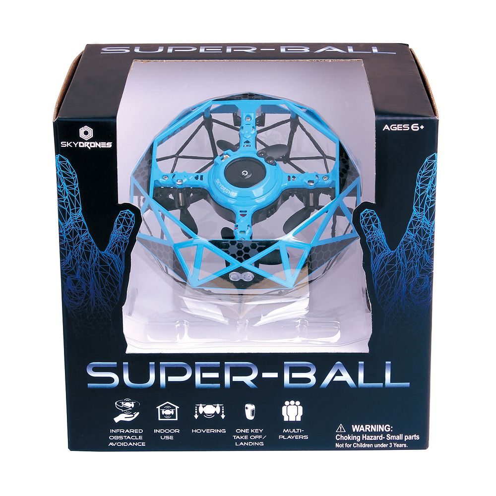 Sky Drones Super Ball Infrared Gesture Control Drone