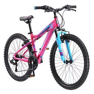 c3a8423529e Girls Schwinn High Timber 24-Inch Mountain Bike