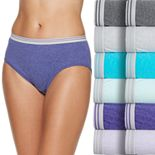 Women's Fruit of the Loom 12-pack Cotton Low-Rise Hipster Panties