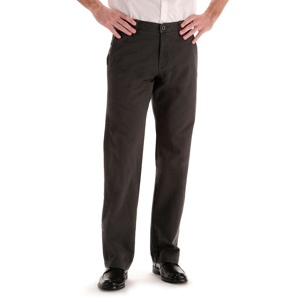Big & Tall Lee® Weekend Chino Straight-Fit Flat-Front Pants