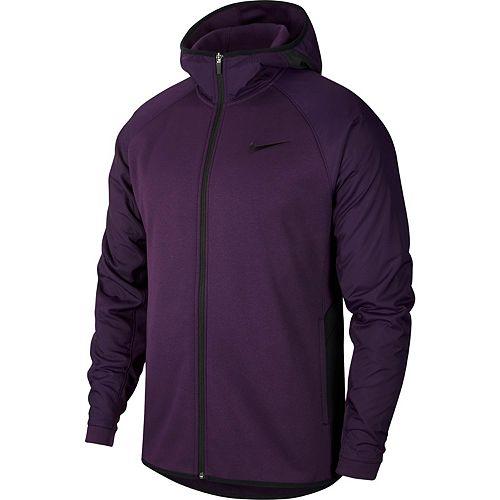 Men's Nike Therma Full-Zip Basketball Hoodie