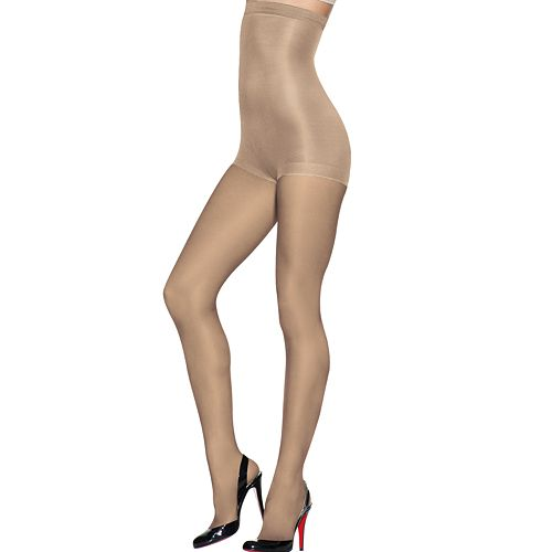 Hanes Silk Reflections High-Waist Control-Top Sheer Pantyhose