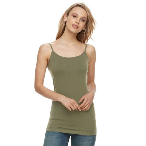 Women's Apt. 9® Essential Seamless Camisole by Apt. 9
