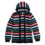 Girls 6-16 & Plus Size SO® Long Sleeve Hooded Cardigan