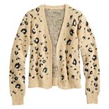 Girls 6-16 & Plus Size SO® Open Front Cardigan