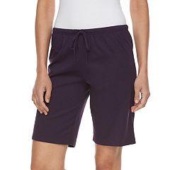 Women's Jockey Pajamas: Bermuda Pajama Sleep Shorts