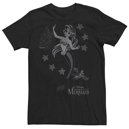 Men's Disney's The Little Mermaid Ariel Tee