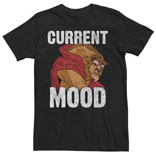 Men's Disney's Beauty and the Beast Current Mood Tee