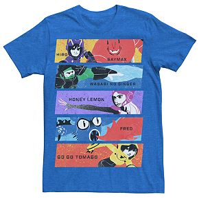 Men's Disney's Big Hero 6 Group Panel Tee