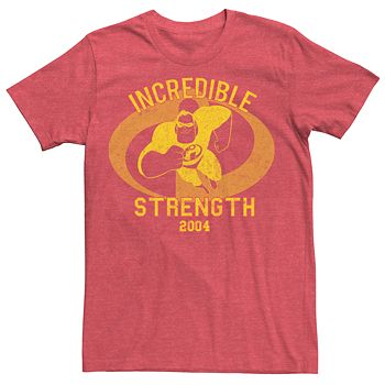New The Incredibles Pixar Mr Incredible Mens Classic Vintage T-Shirt