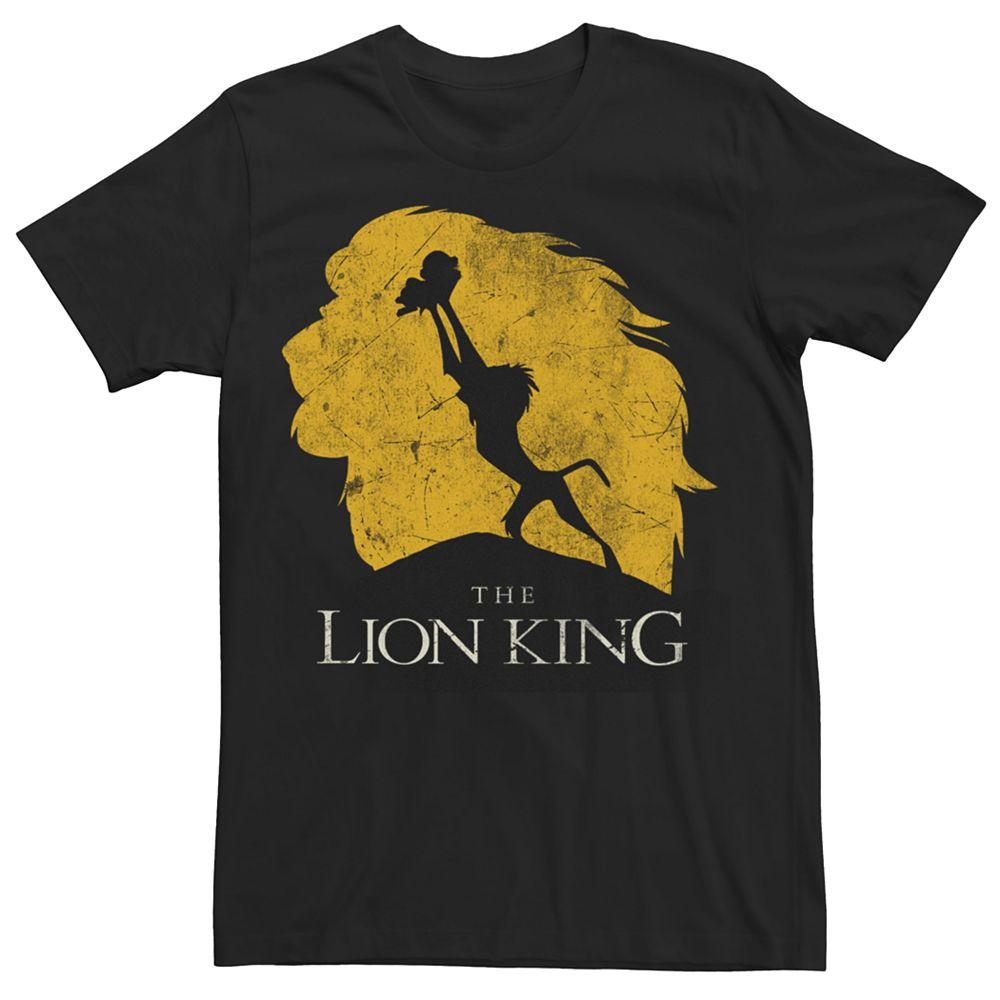 Men's Disney The Lion King Baby Simba Mufasa Tee