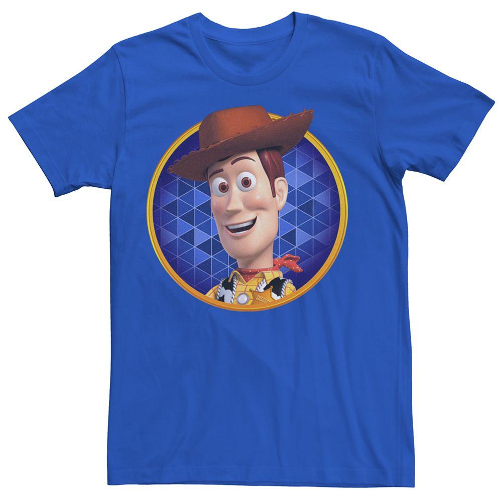 Men's Disney Pixar's Toy Story Woody Circle Tee