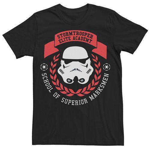 Men's Star Wars Stormtrooper Academy Logo Tee