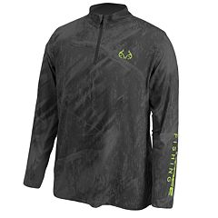 Men's Realtree Cast Performance Quarter-Zip Windshirt