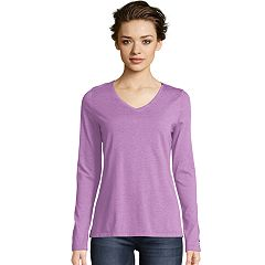 Women's Champion Authentic Wash Long Sleeve Tee