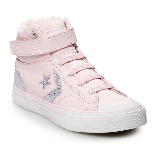 Girls' Converse CONS Pro Blaze Strap High Top Shoes