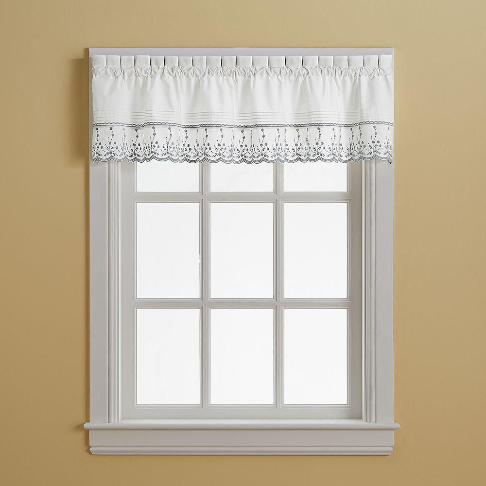 Window Curtainworks Abby Window Valance